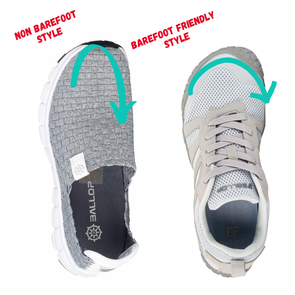 ballop pellet barefoot sneaker