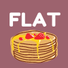 flat as pancake