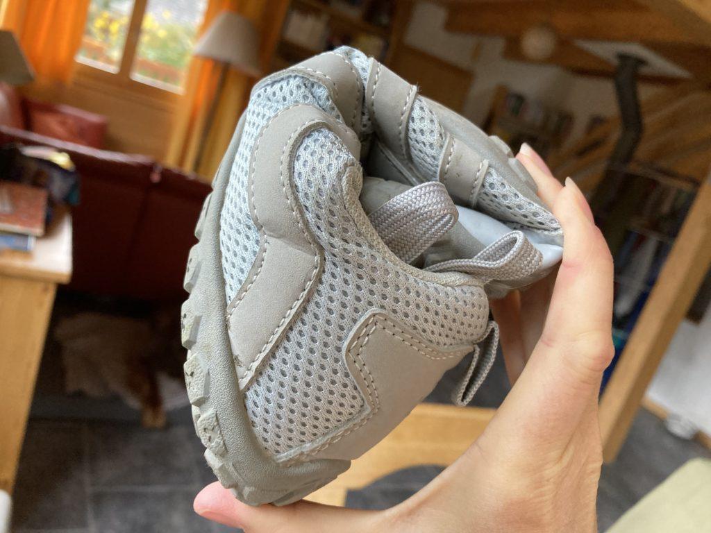 flexible ballop sneaker