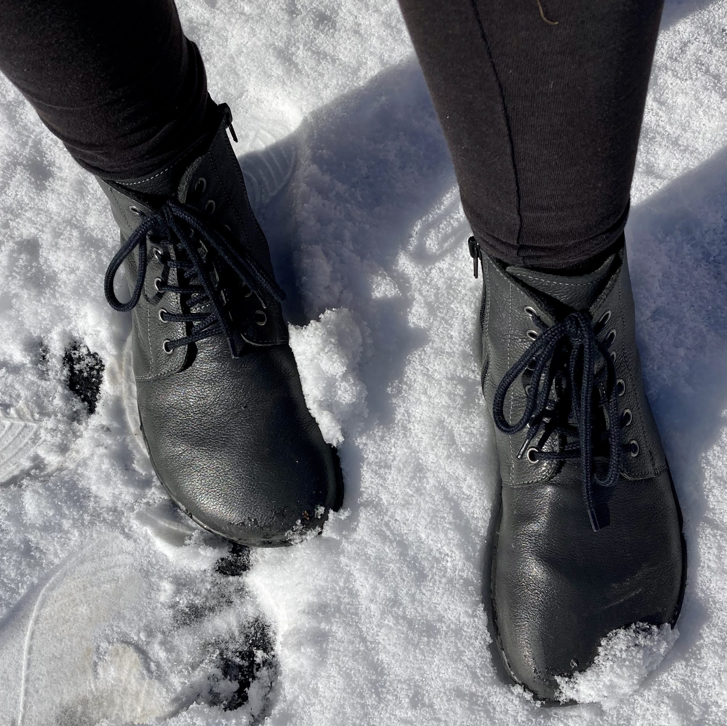 Girl wearing Belenka Nord Boots