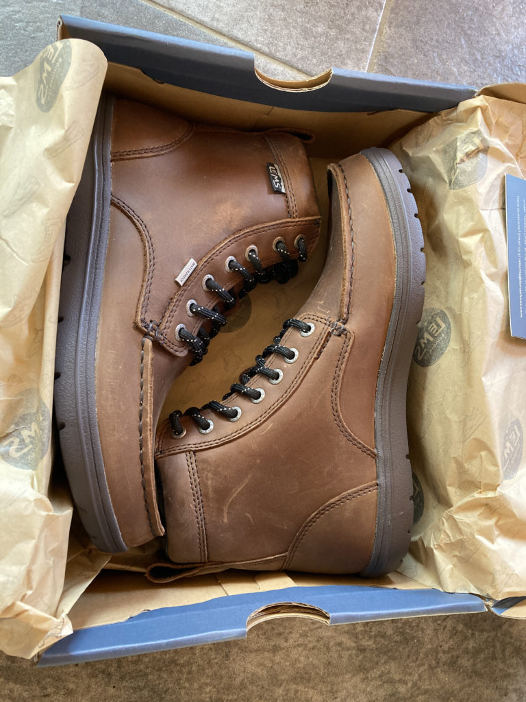 lems boots in box