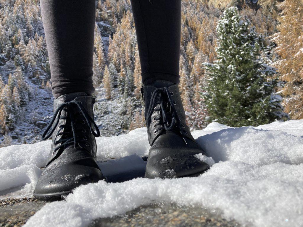 Girl wearing Belenka Nord Boots